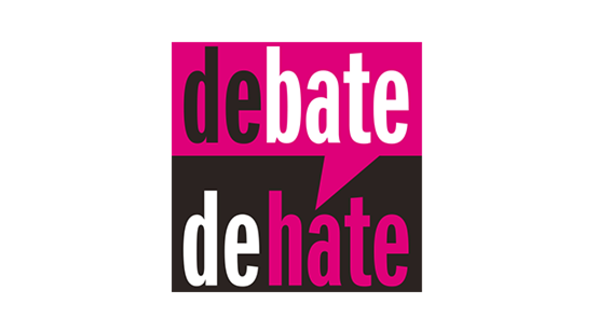Logo Debate//De:hate
